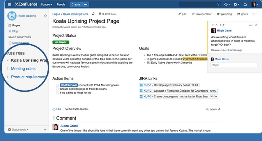 project-management-software-confluence-organize-screenshot