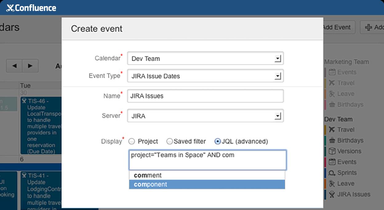 JIRA Software に透明性を