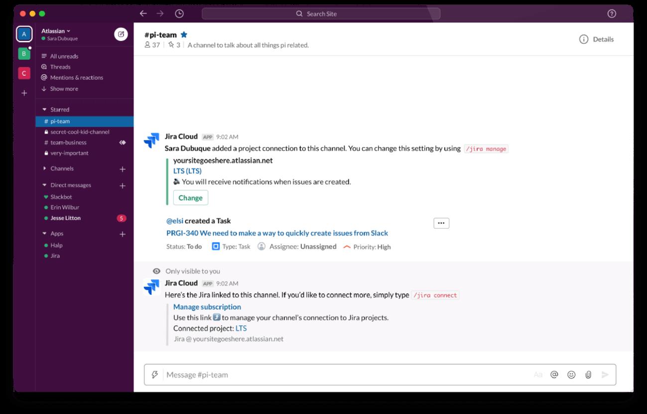 Slack e Atlassian