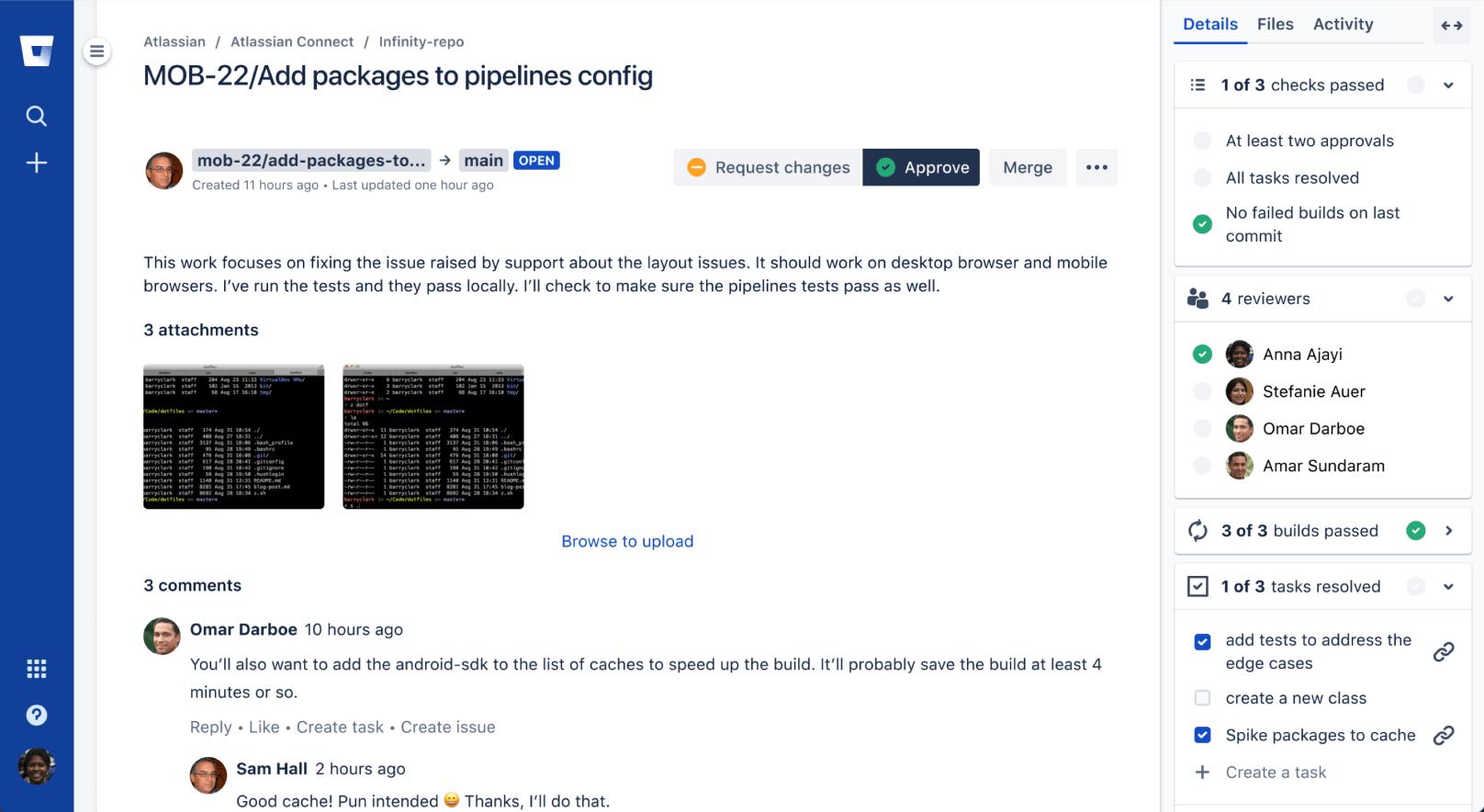 Bitbucket-issueweergave