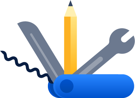 Icona di un coltellino svizzero