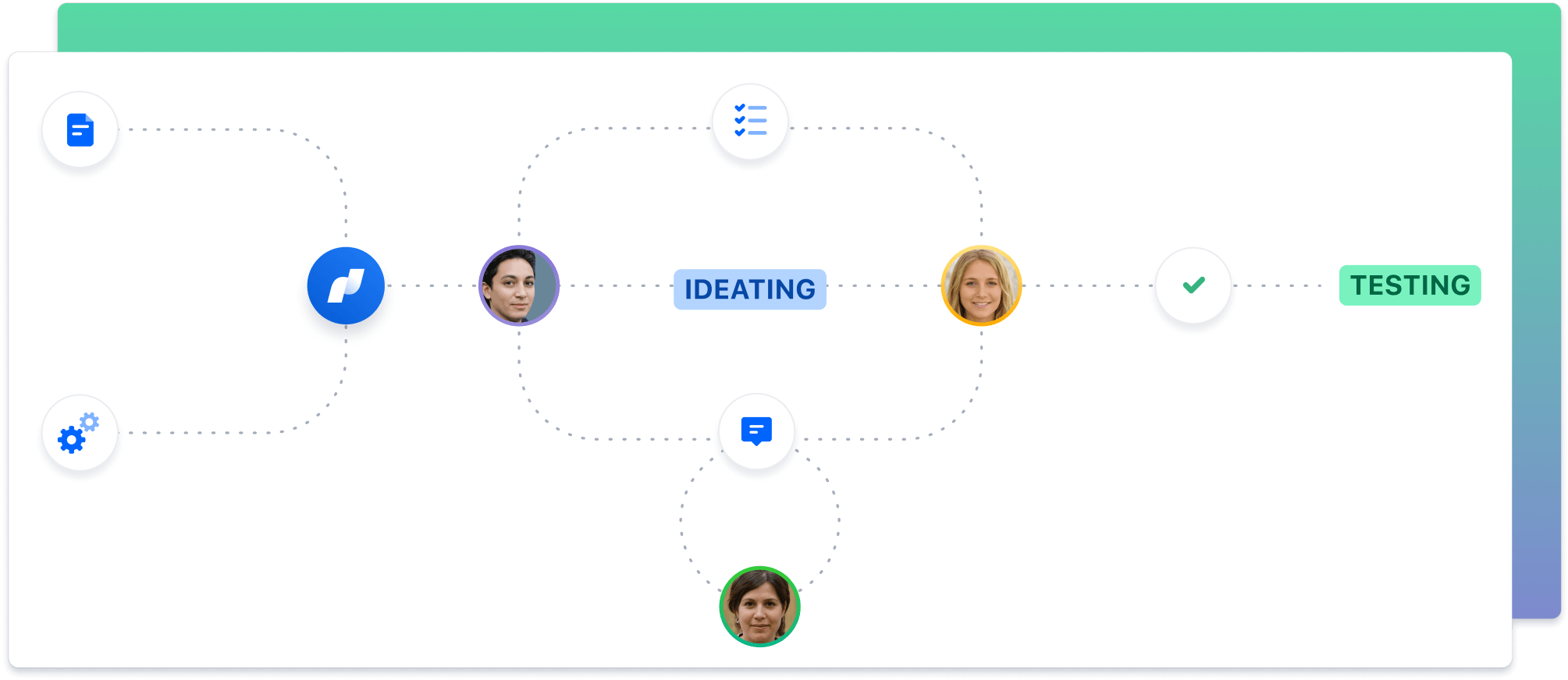 Koordynacja działań — zrzut ekranu
