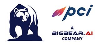 PCI, a BigBear.ai Company logo