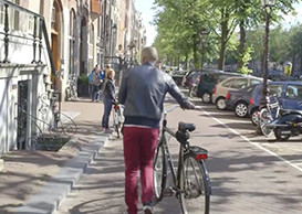 Amsterdam biking culture