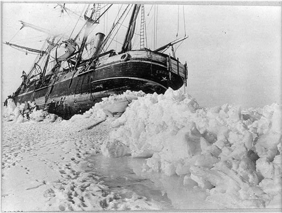 Shackleton boat photo