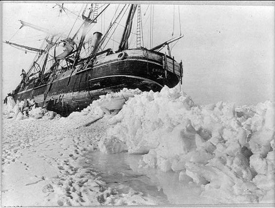 Shackleton boat photo