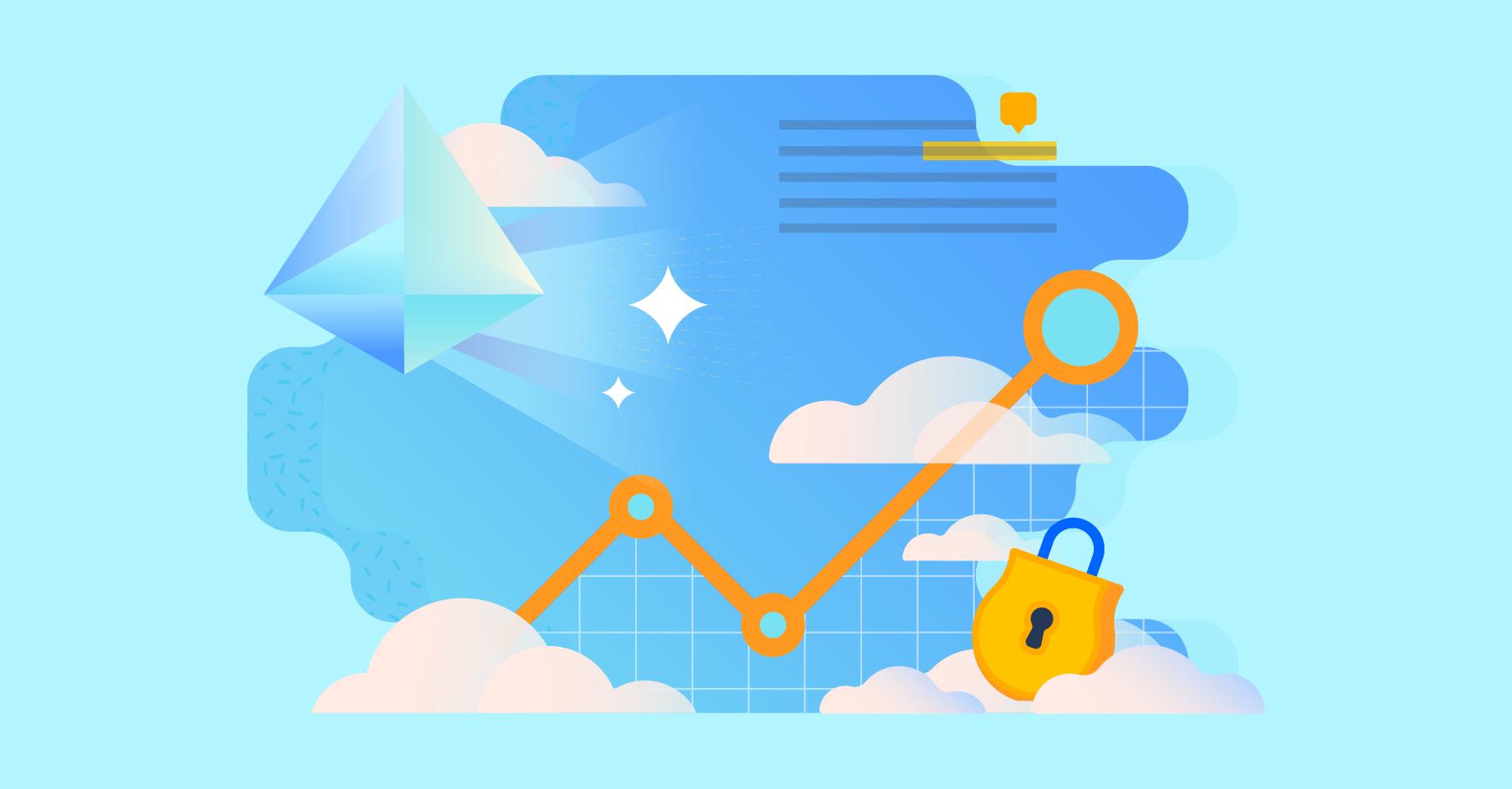 Az Atlassian Premium illusztrációja