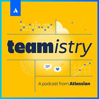 Ilustração do podcast Teamistry