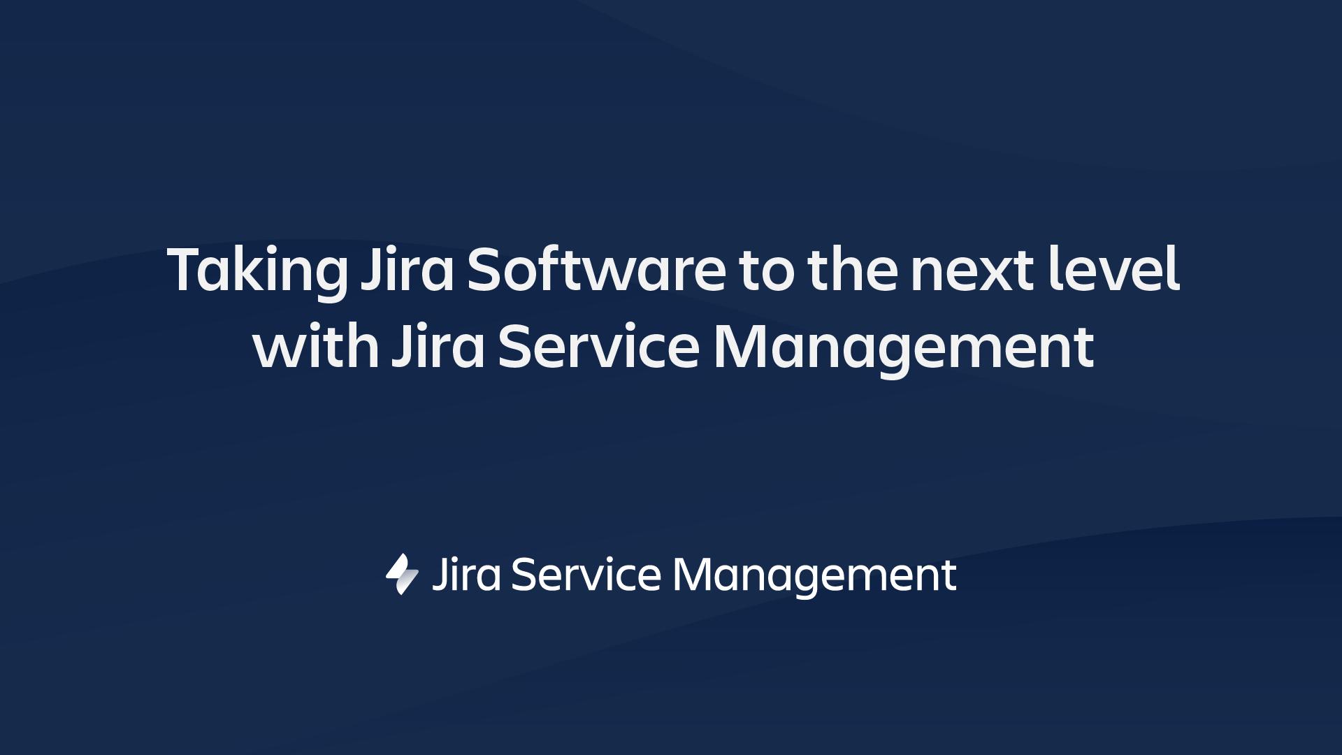 Jira Service Management video thumbnail