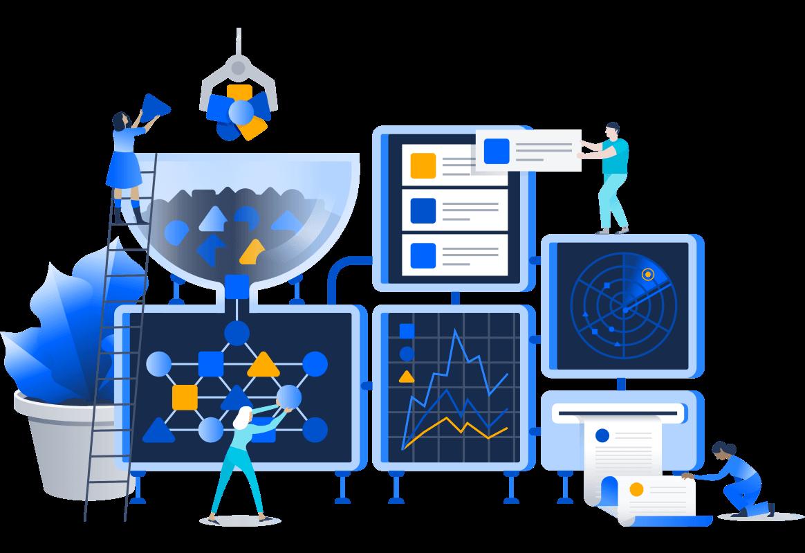 Create Asset Management illustration