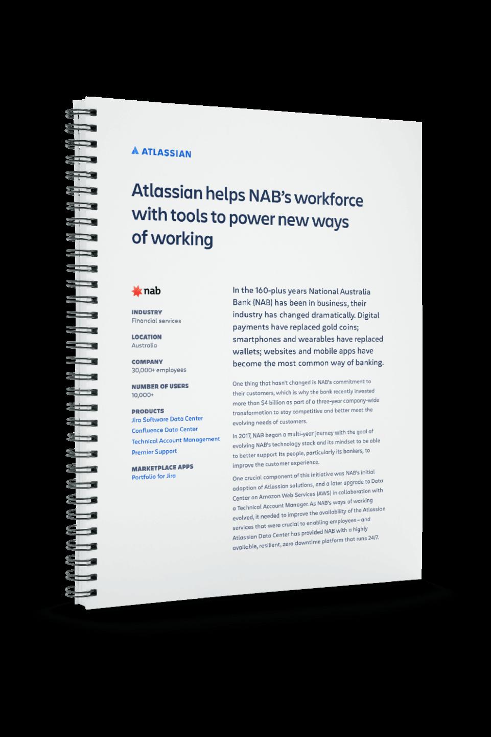 Couverture du PDF sur la NAB