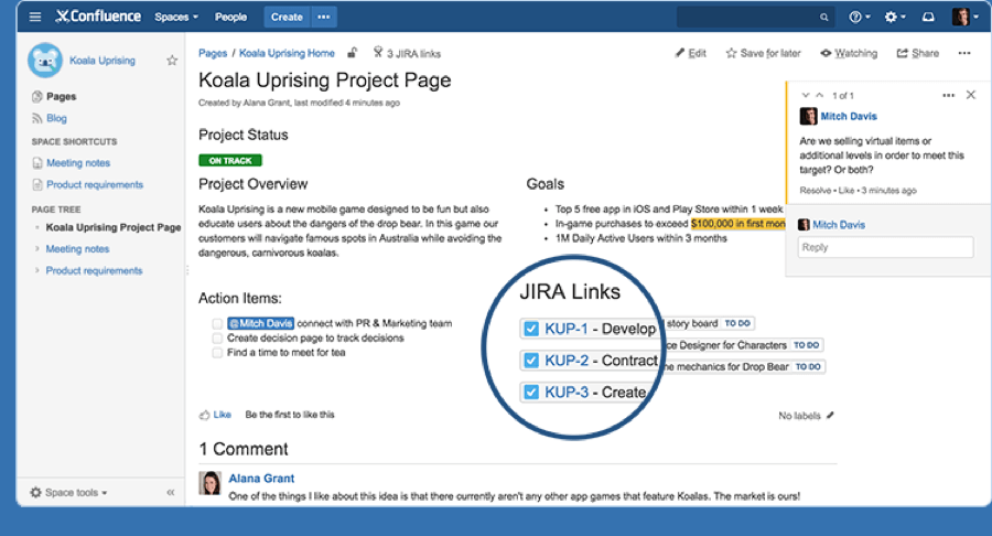 project-management-software-confluence-jira-link-screenshot