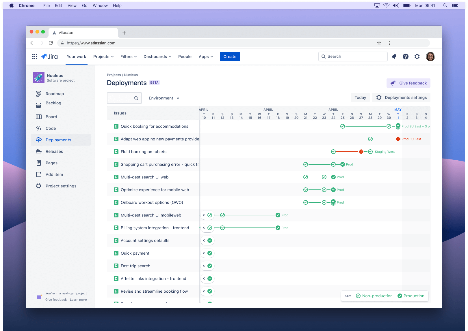 Screenshot: Next-Gen-Releases