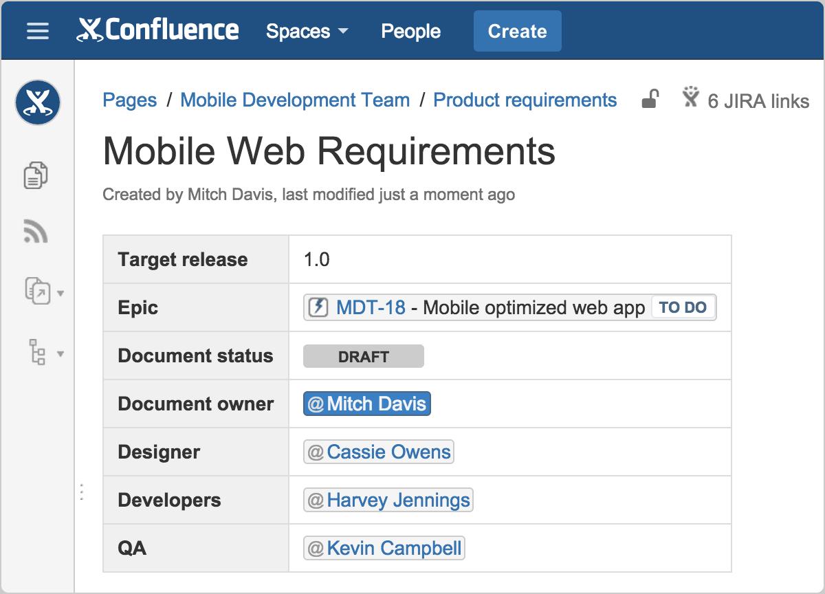 Requisitos ágeis | Coach Agile Atlassian