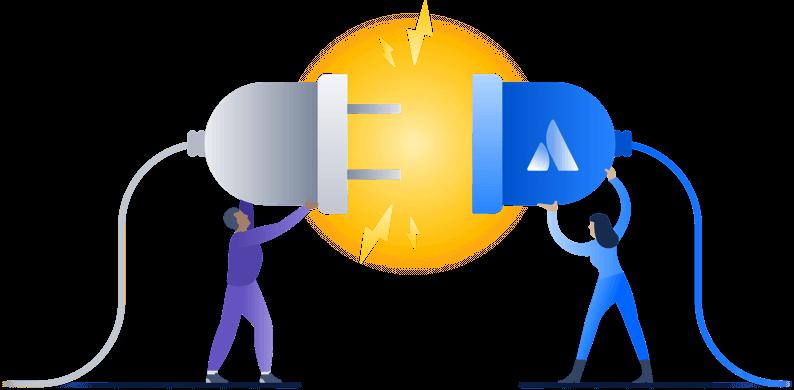 Atlassian integration illustration