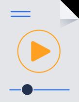 Video file illustration