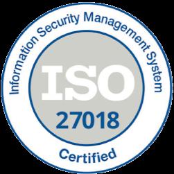 ISO 27018 徽标