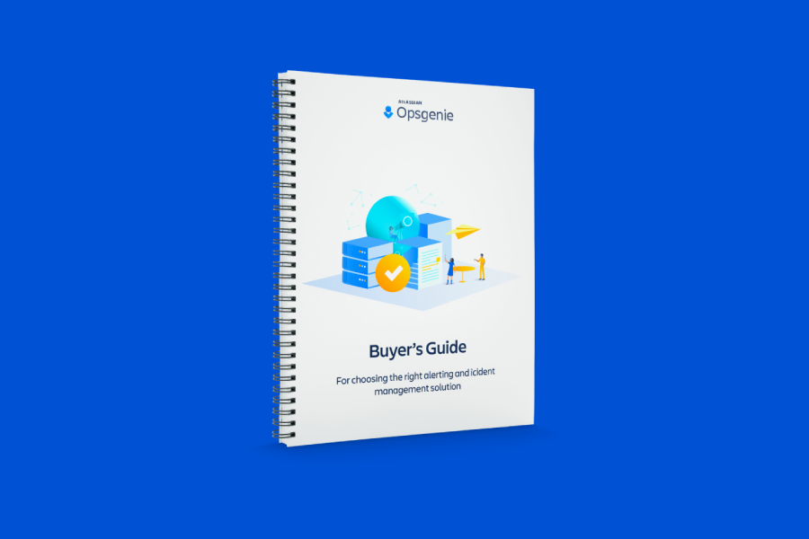 Portada del PDF de The Incident Management Buyers Guide (Guía del comprador para la gestión de incidentes)