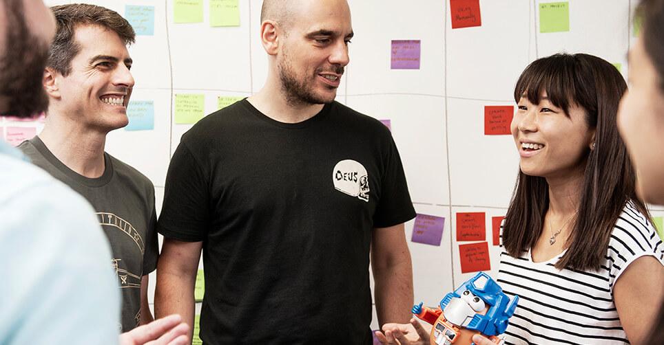 Atlassian engineering team at work