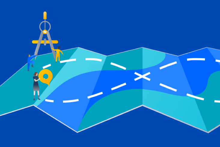 Map illustration