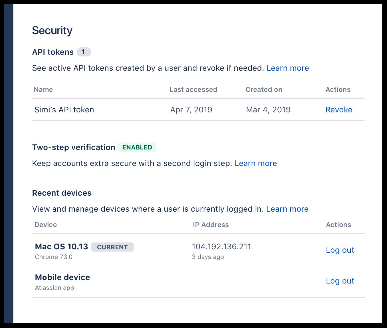 atlassian-access-fokozott-biztonság