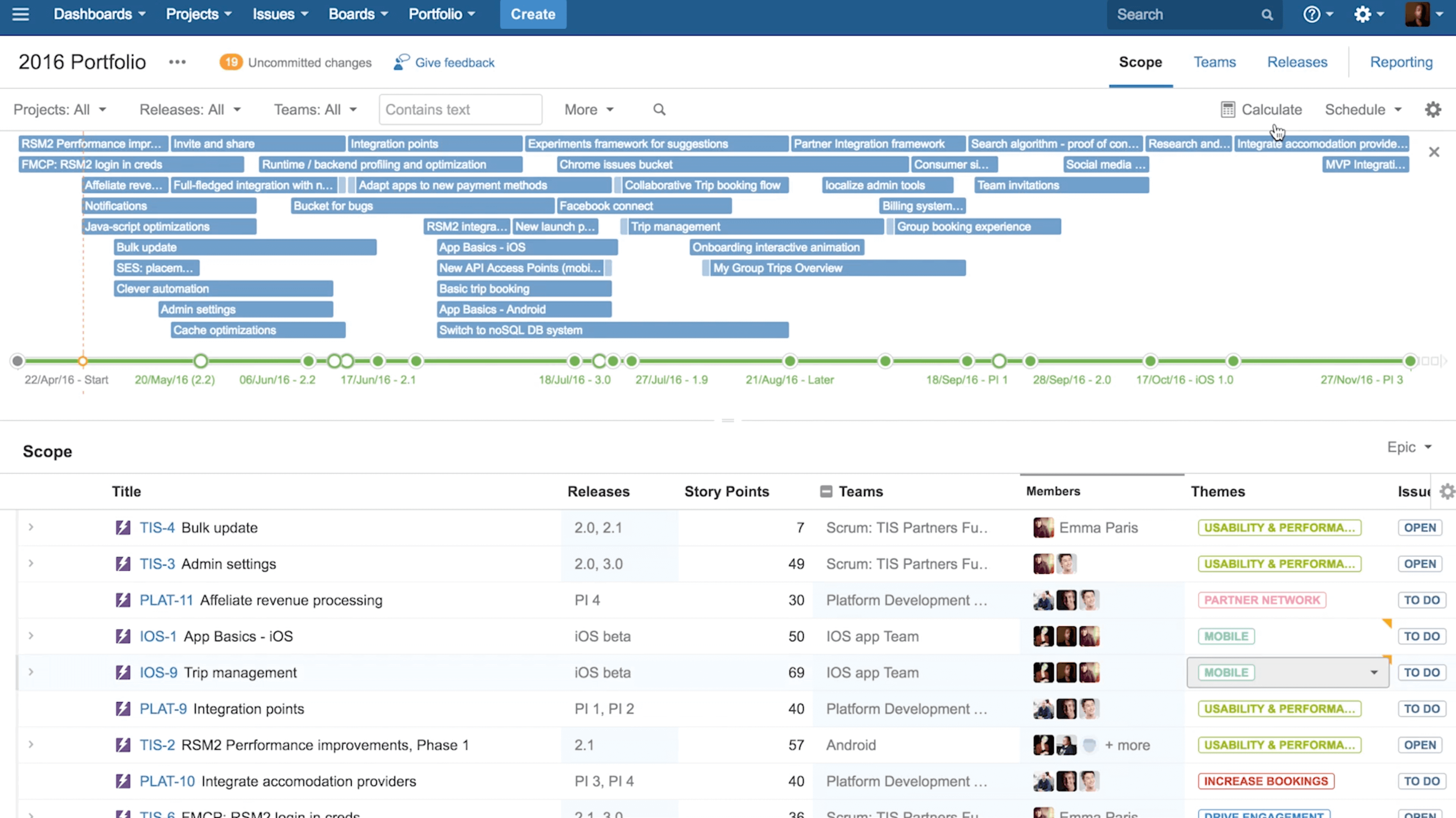 Portfolio for jira atlassian create a roadmap thats connected to your work in jira software ccuart Choice Image