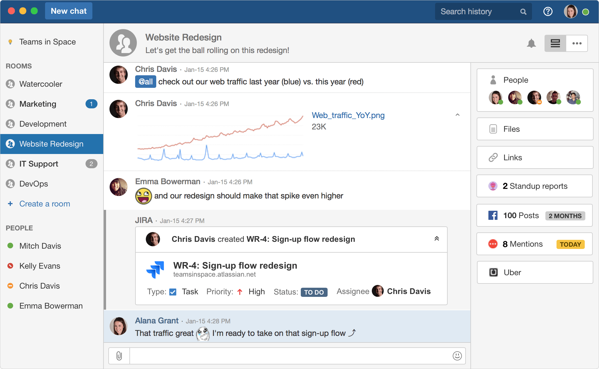 Hipchat-Screenshot