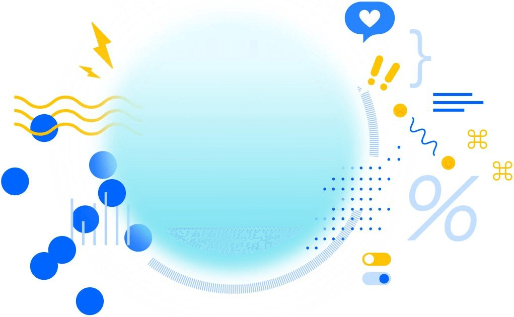 Illustration of tools in bubbles