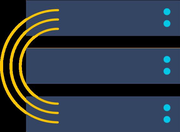 Data Center のイラスト