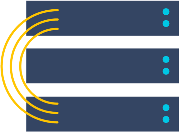 Illustrazione di data center