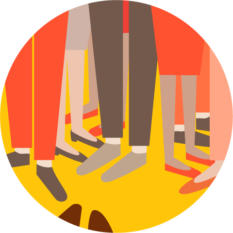 Stepping on each other's toes is a sign your project is at risk.