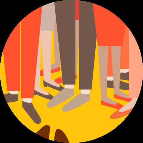 Op elkaars tenen trappen is een teken dat je project risico loopt.