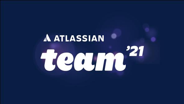 Atlassian Team '21 のロゴ