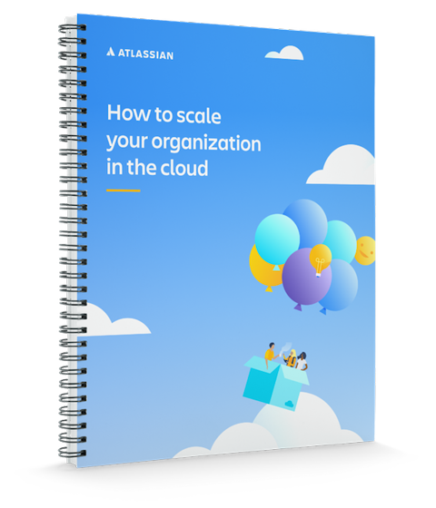 """""""如何在云端调整您的组织规模""""封面图"""