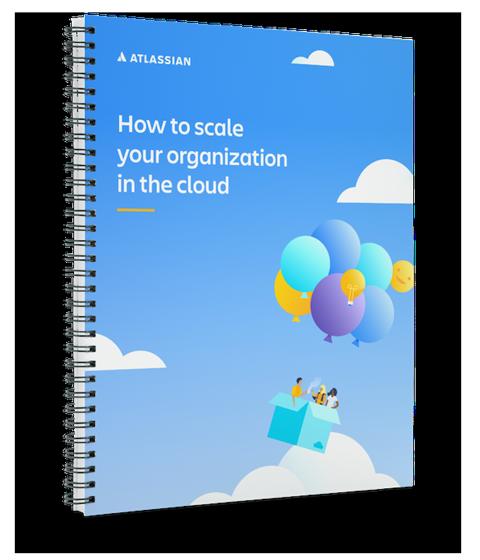 Изображение: обложка технического документа «Как выполнить масштабирование организации в облаке»