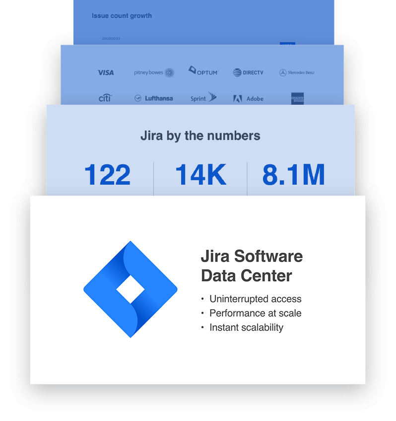 Jira Software statistics illustration