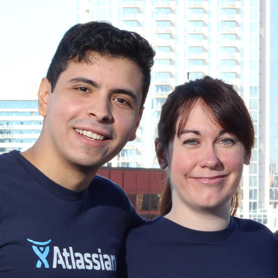 Az Atlassian műszaki támogatási mérnökei