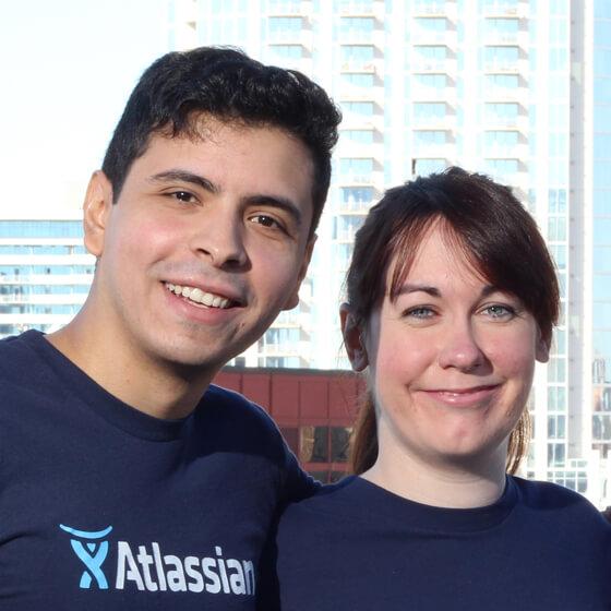 Engenheiros de suporte técnico da Atlassian