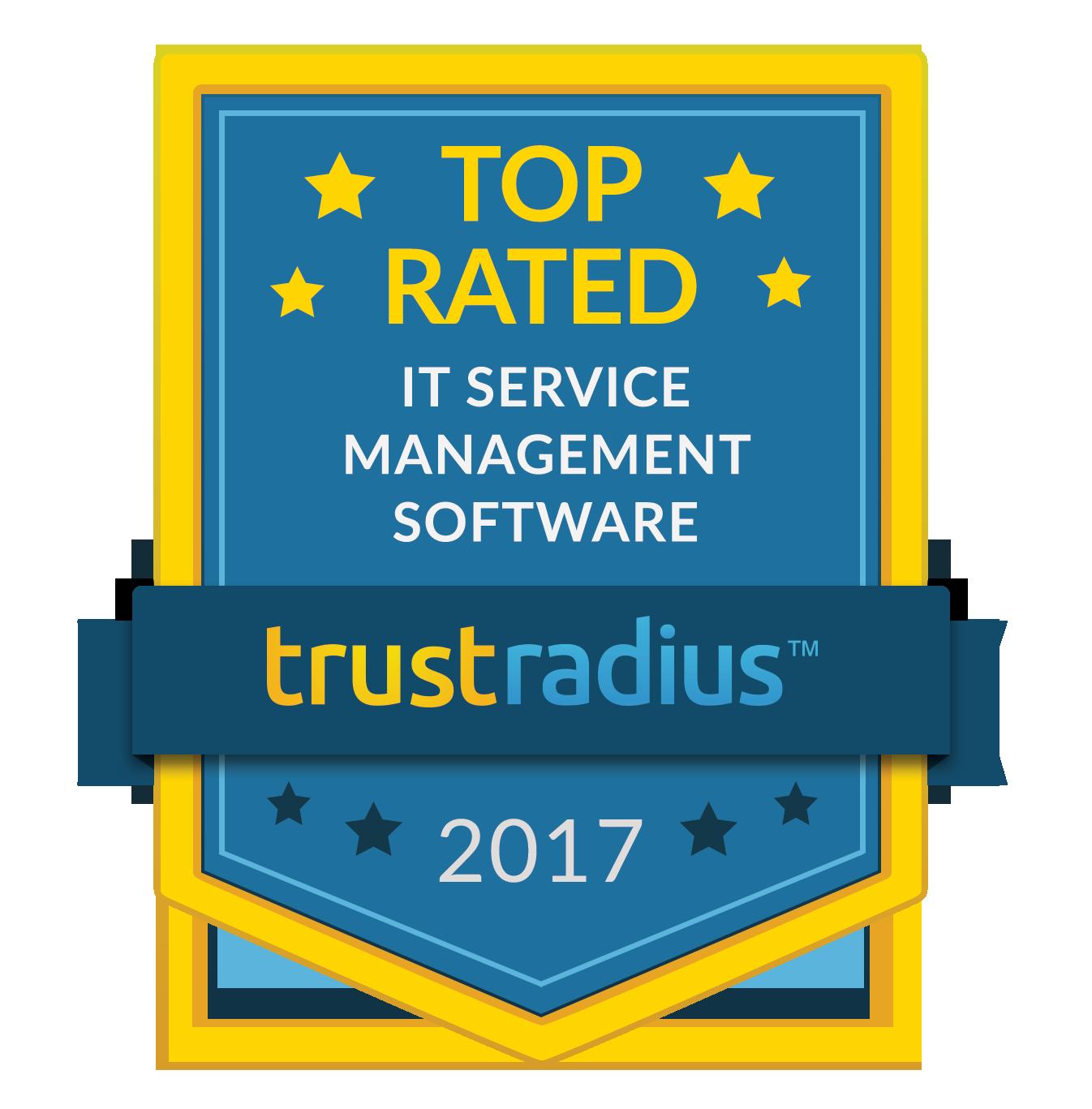 Icône du logiciel ITSM le mieux noté sur TrustRadius