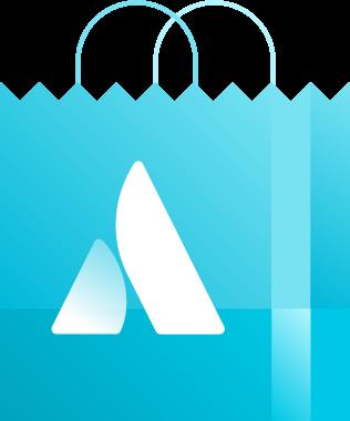 Atlassian shopping bag