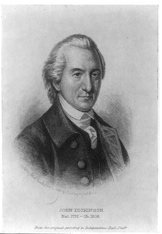 Portrait of John Dickinson