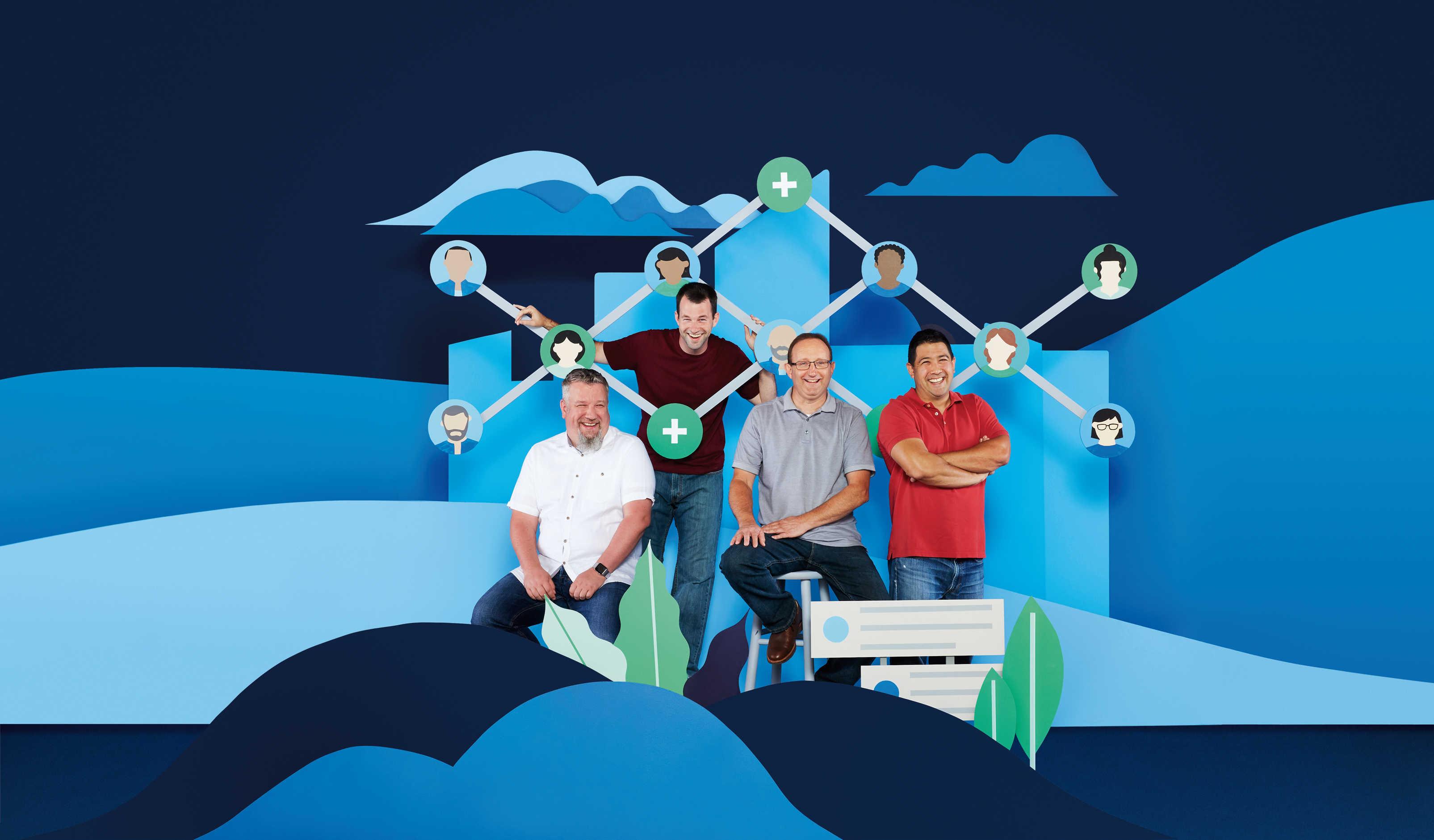 Découvrez comment LinkedIn a utilisé les produits Atlassian Enterprise pour intégrer 500millions de membres