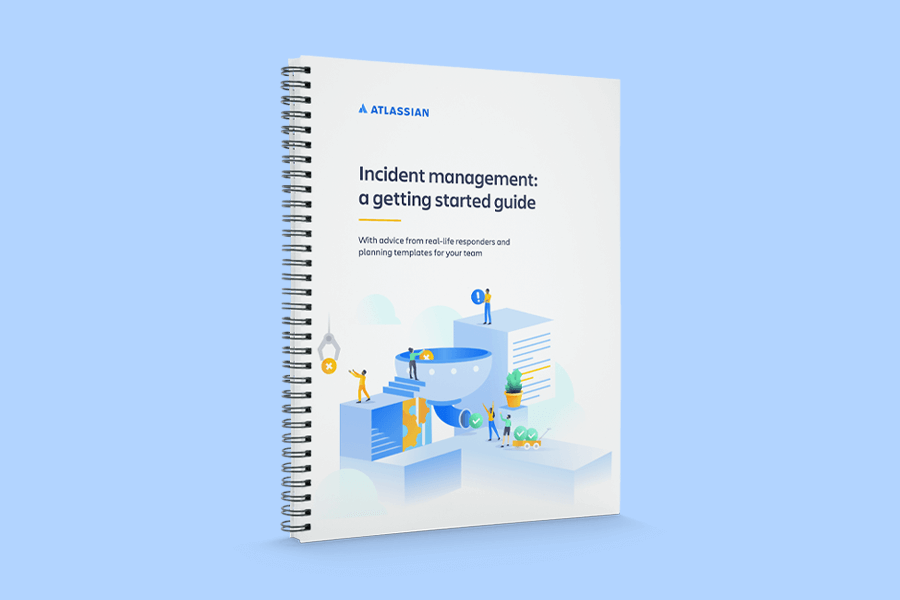 Incident management: a getting started guide cover