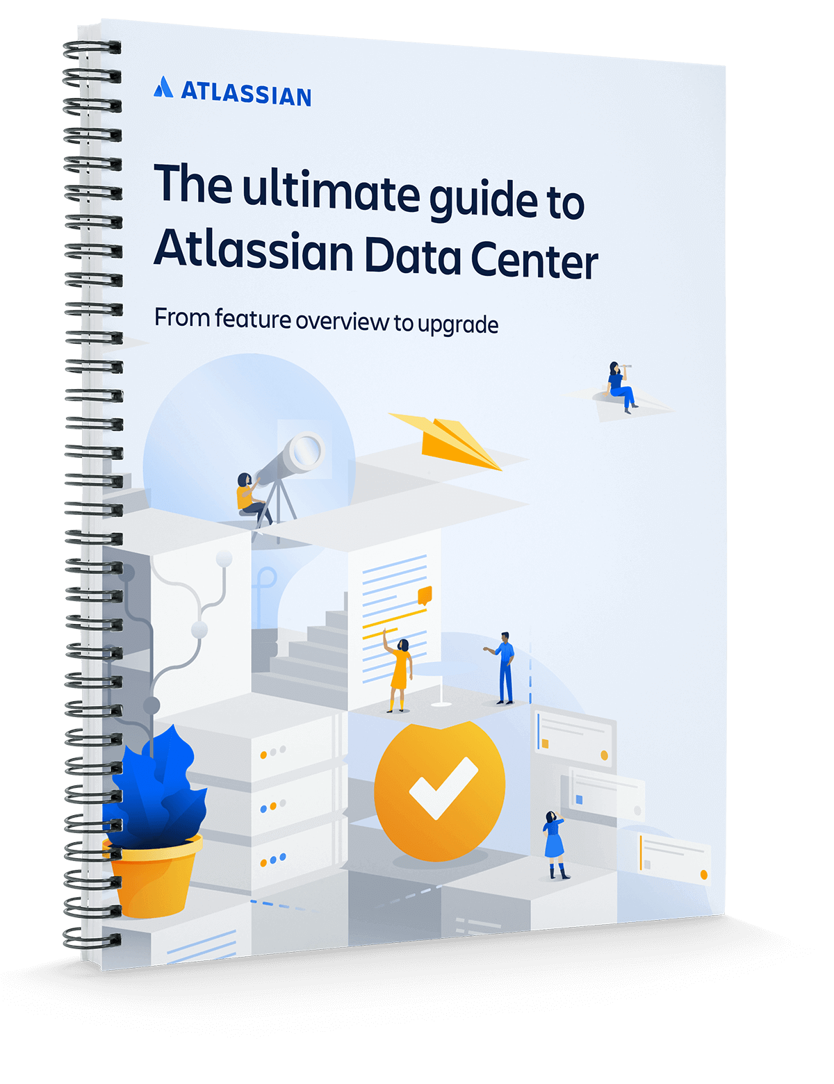 Couverture du fichier PDF « Guide ultime sur Atlassian Data Center »