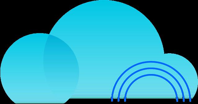 Ilustración de una nube
