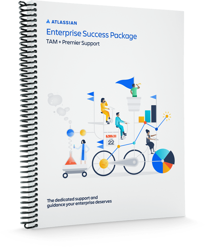 Copertina del quaderno Enterprise Success Package