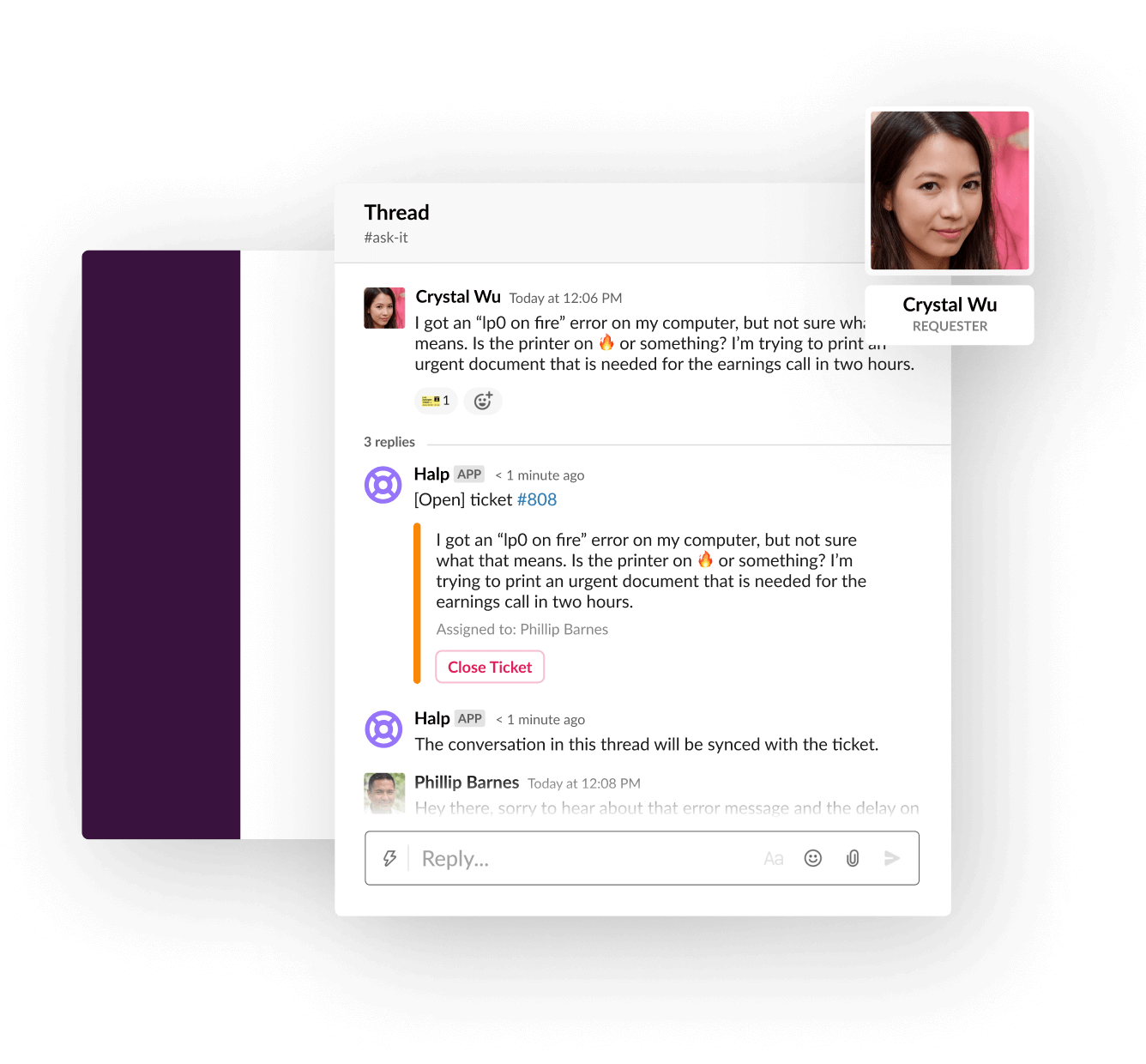 Zmień platformę Slack w punkt pomocy technicznej