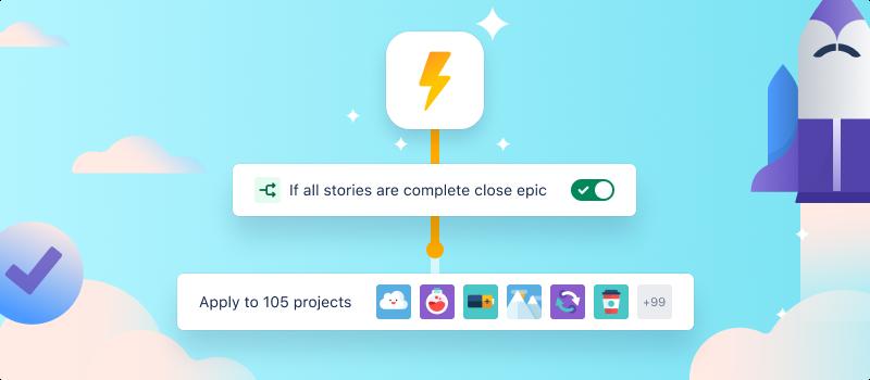 Captura de tela da automação global e de vários projetos