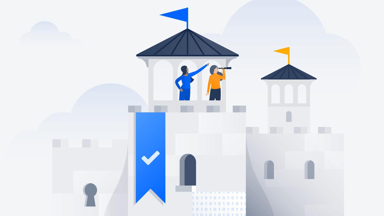 Acesse o Atlassian Trust Center