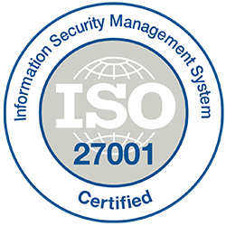 Information Security Management System Certified logo